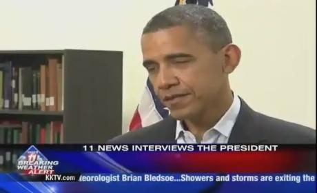 "President Obama Gives Self ""Incomplete"" Grade on Economy"