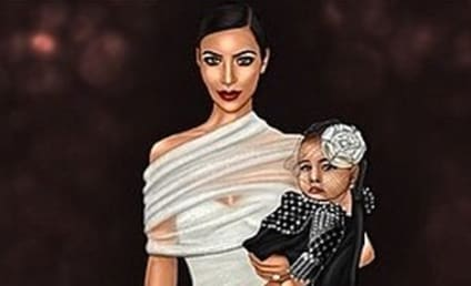 Kim Kardashian Karicatures: See the Busty Works of Art!