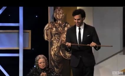 "Sacha Baron Cohen ""Kills"" Grace Cullington at Britannia Awards"