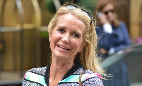 Kim Richards on the Street