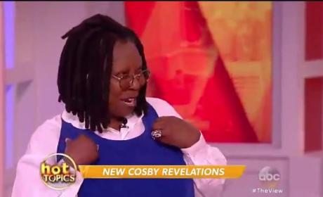 Whoopi Goldberg is Still Standing by Bill Cosby