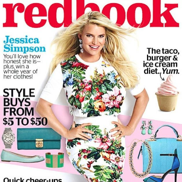 Jessica Simpson Redbook