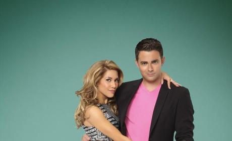 Jonathan Bennett and Allison Holker Photo