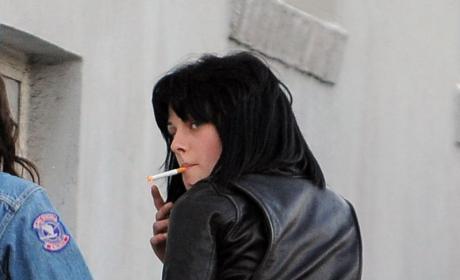 Kristen Stewart Smoking