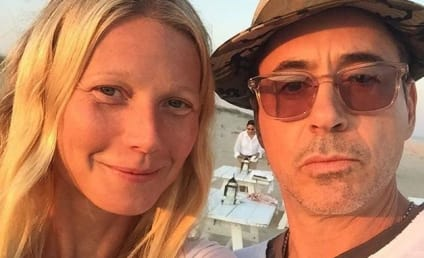 Gwyneth Paltrow Posts Makeup-Free Selfie, Hangs With Robert Downey Jr.