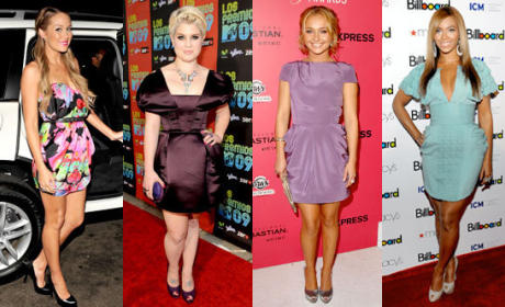 Who looked best, LC, Kelly, Hayden or Beyonce?