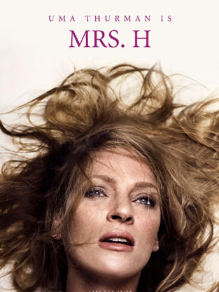 Uma Thurman Nymphomaniac Poster