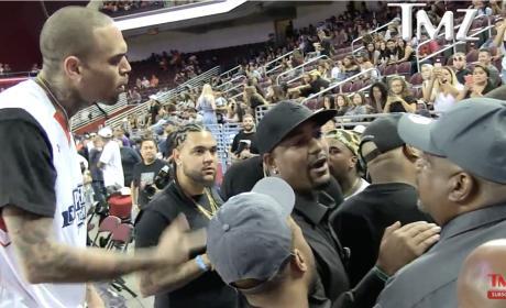 Chris Brown Goes Nuts