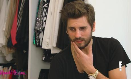Scott Disick: WASTED and Belligerent in New Keeping Up with the Kardashians Clip!