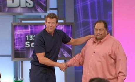 Man with the 132-Pound Scrotum Appears on The Doctors