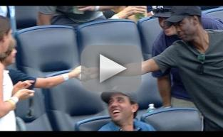 Chris Rock Hands Foul Ball to Child