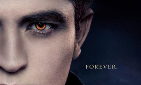 Robert Pattinson Breaking Dawn Poster