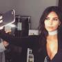 Kim Kardashian Shares Saint West Photo, Pretends to Cook