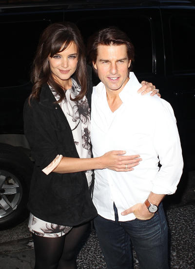 Tom Cruise and Katie Holmes Picture