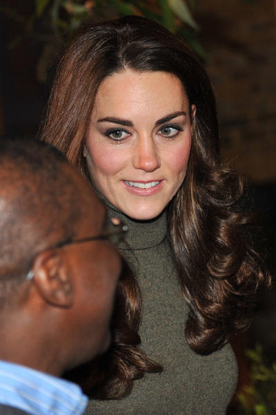 Kate Middleton, Long Hair
