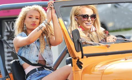 Iggy Azalea and Britney Spears