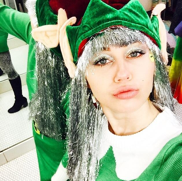 Miley Cyrus Lip Injection Rumors Sparked By Trippy Elf