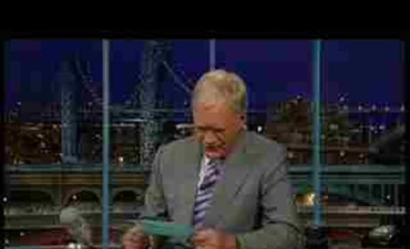 David Letterman Apologizes For Palin Comments