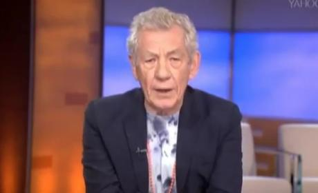 "Ian McKellen Recites ""Bad Blood,"" Forever Wins the Internet"
