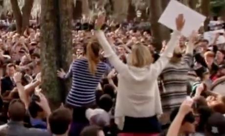 Stephen Colbert-Herman Cain Rally