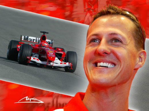 Michael Schumacher Wallpaper