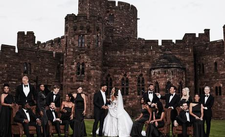 Ciara and Russell Wilson Wedding Photo