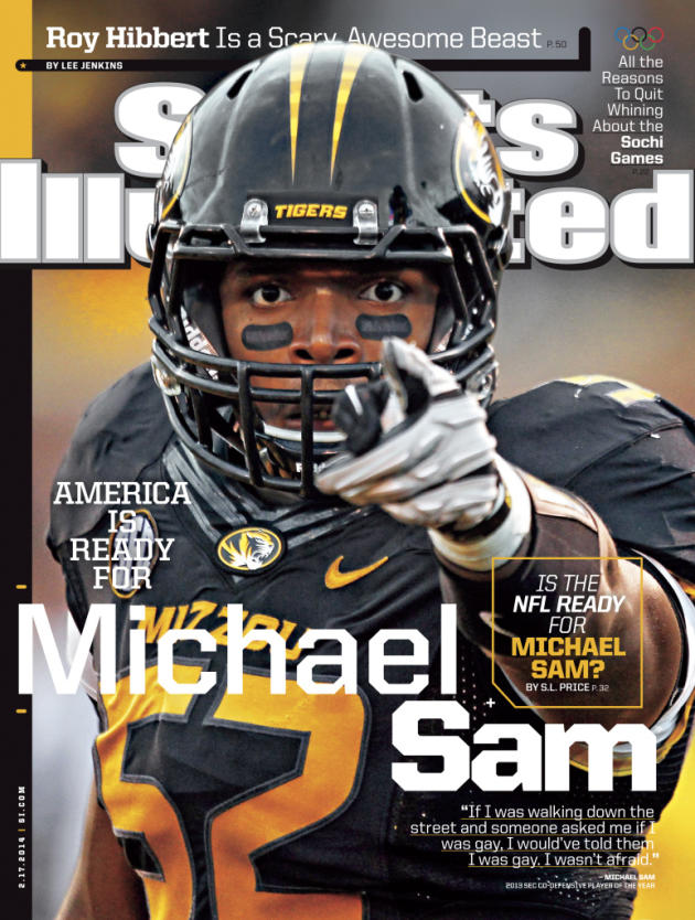 Michael Sam Sports Illustrated Cover