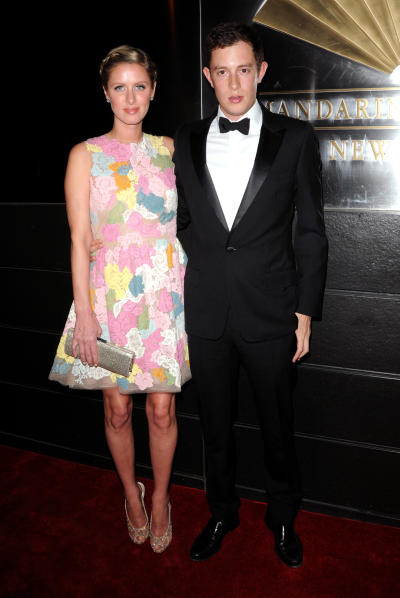 Nicky Hilton and James Rothschild
