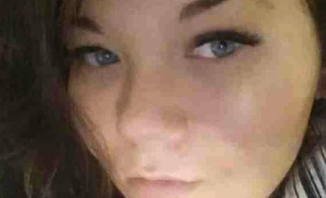 Amber Portwood No Makeup Selfie