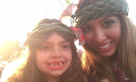 Farrah Abraham with Daughter