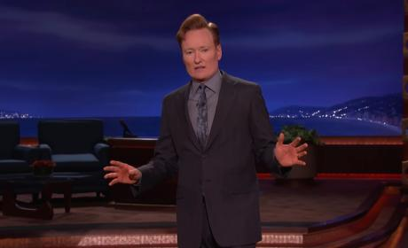 Conan O'Brien Calls for End of Assault Rifle Sales