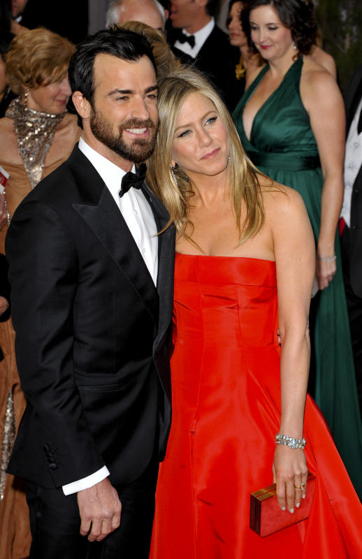 Justin theroux jennifer aniston photograph