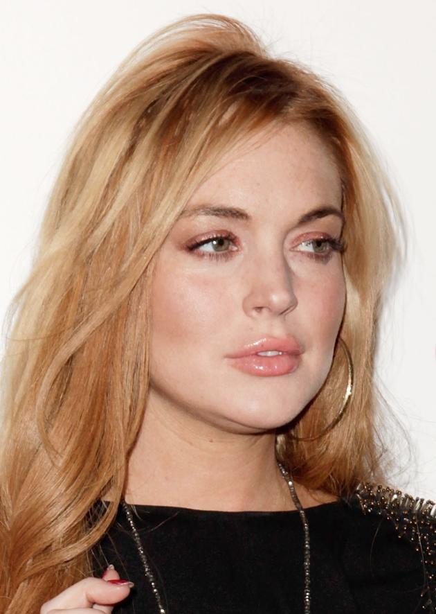 Lindsay Looking Sober