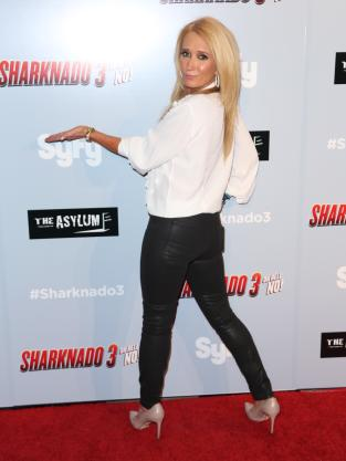 Kim Richards at Film Premiere