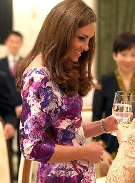 Kate Middleton, Water