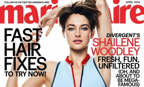 Shailene Woodley in Marie Claire: Divergent Star Opens Up on Body Image