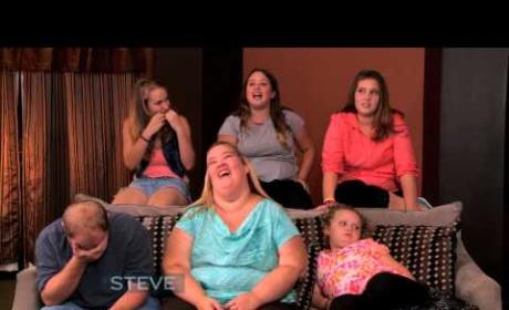 Chickadee Lets One Rip During Family Interview with Steve Harvey