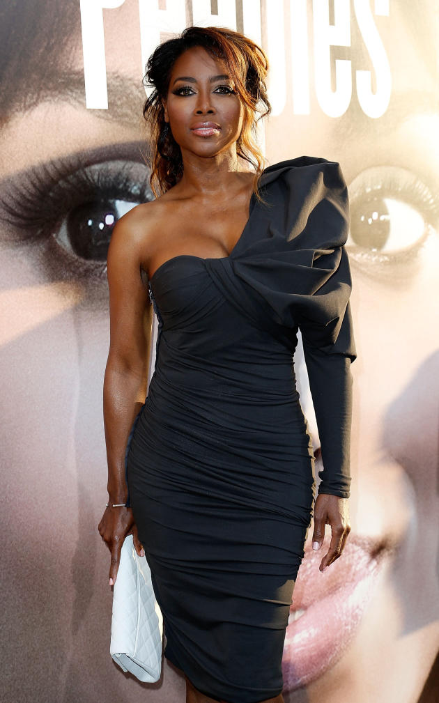 Kenya Moore Red Carpet Pose