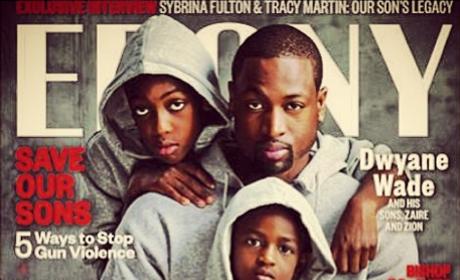 Dwyane Wade Ebony Cover Honors Trayvon Martin