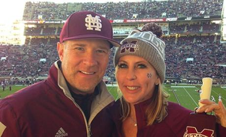 Vicki Gunvalson and Brooks Ayers Photo