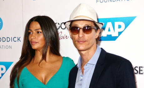 Camila Alves and Matthew McConaughey: Parents Again!