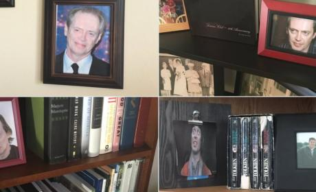 American Hero Replaces Family Photos with Pictures of Steve Buscemi