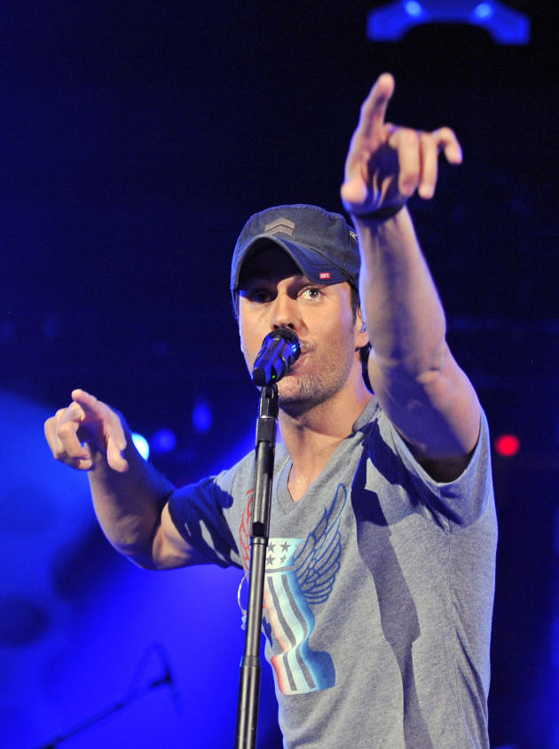 Enrique Iglesias in Chicago