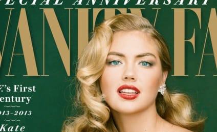 Kate Upton Vanity Fair Cover: Released! Retro-Sexy!