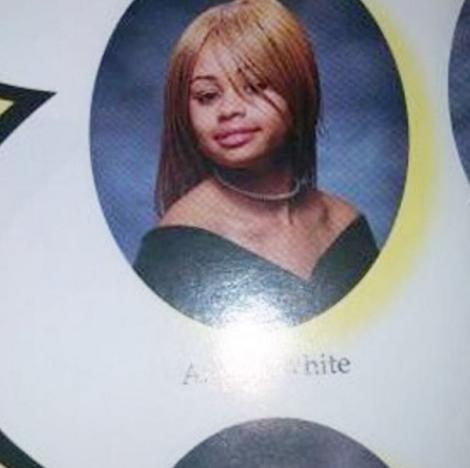 Blac Chyna Yearbook Photo