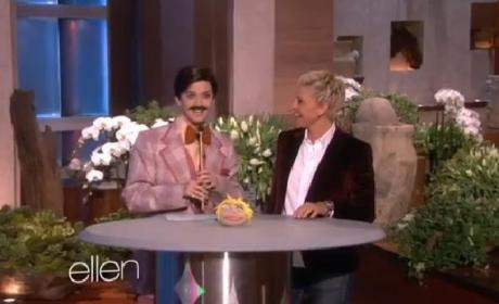 Katy Perry on Ellen: Pop Star Slays as '70s Game Show Host