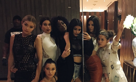 Kylie Jenner Wears Basically Nothing to MET Gala After-Party
