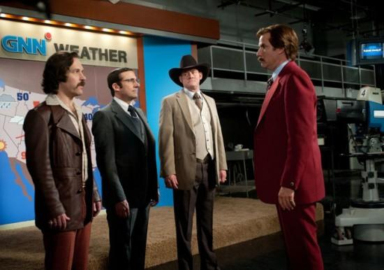 Anchorman 2 News Team Photo