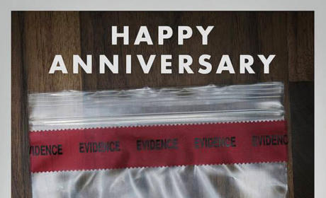 Gone Girl Anniversary Poster