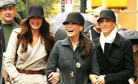 Lipstick Jungle Fashion: Wearing Many Hats